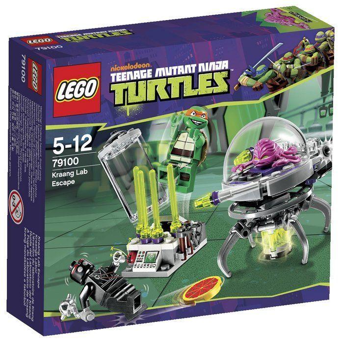 """Конструктор Лего """"Черепашки Ниндзя"""" - Побег из лаборатории"""