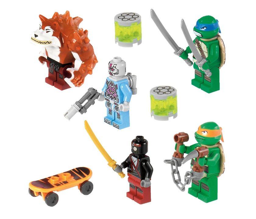 "Конструктор Лего ""Черепашки ниндзя"" - Погоня на панцирном танке"