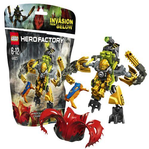 """Конструктор LEGO """"Фабрика Героев"""" - Вездеход Роки"""