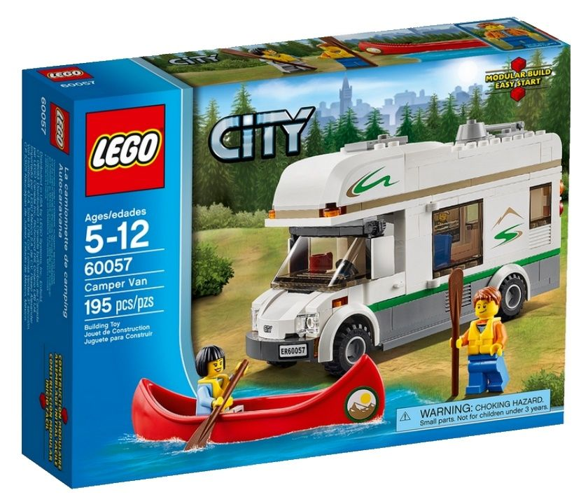 Конструктор LEGO City - Дом на колёсах