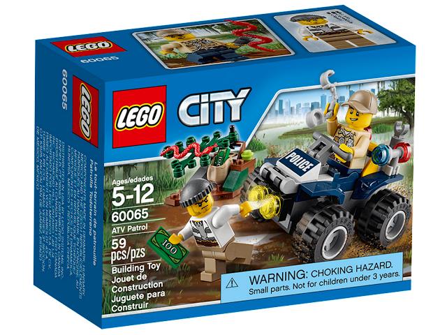 Конструктор LEGO City - Патрульный вездеход