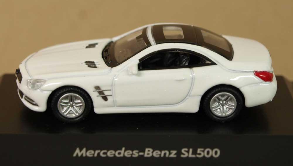Коллекционная модель Mercedes-Benz SL500, 1:87