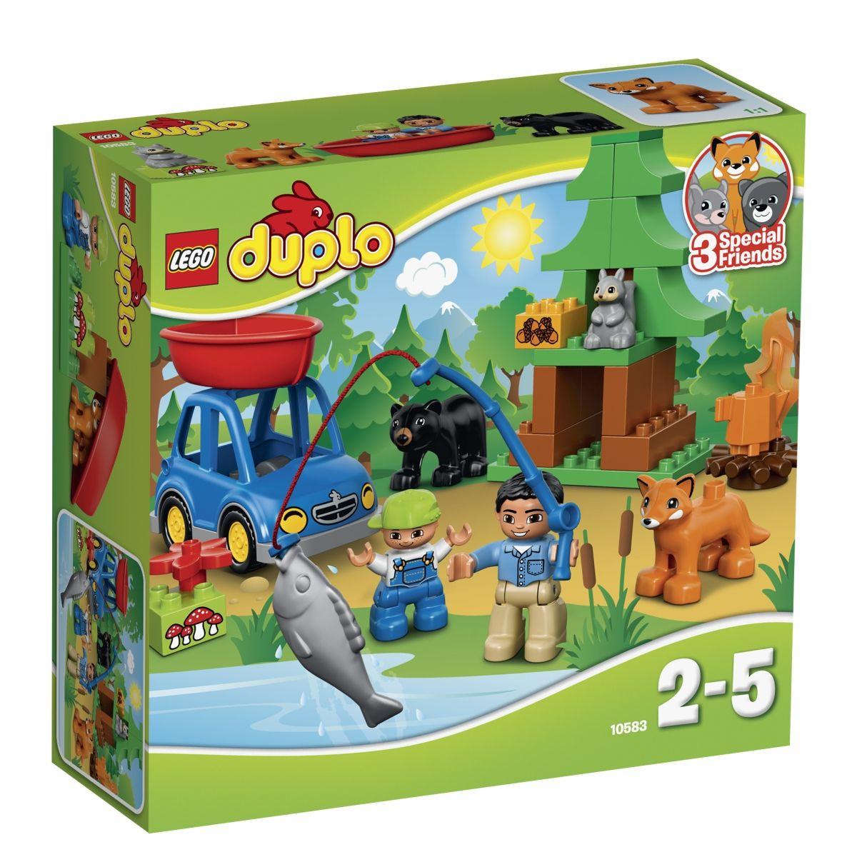 """Конструктор LEGO Duplo """"Рыбалка в лесу"""""""