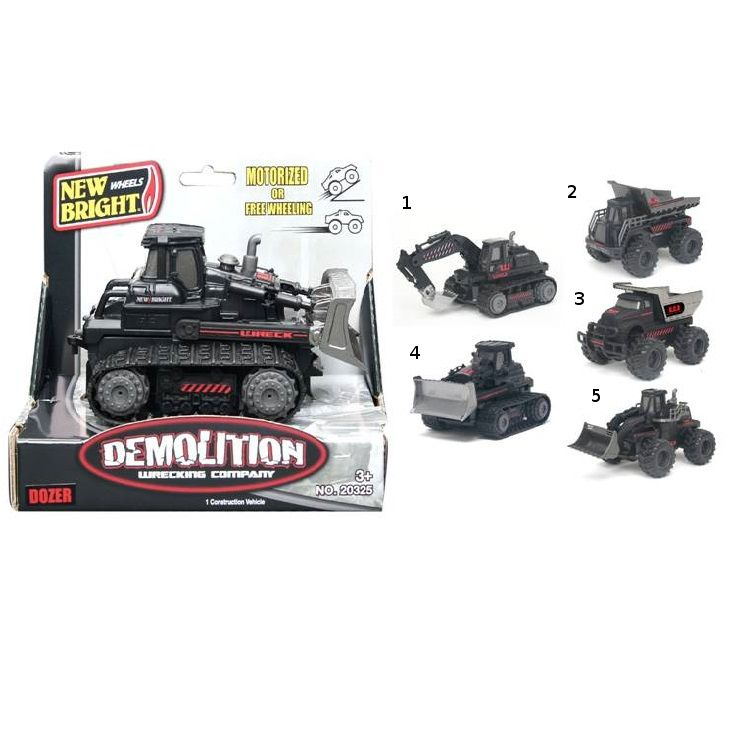 Строительная техника Demolition, 1:43
