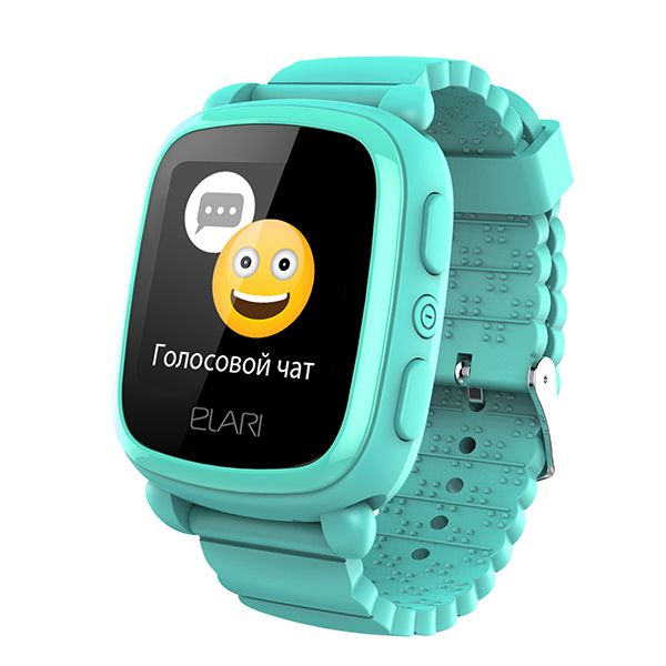 Детские часы KidPhone 2, зеленые