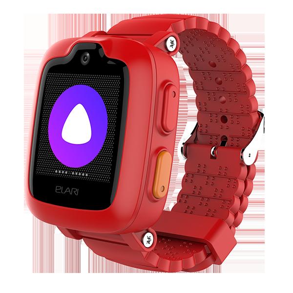 Детские часы KidPhone 3G, красные