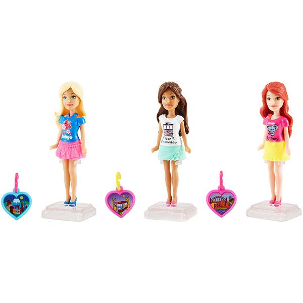 """Кукла Барби """"Мини-куклы путешественники"""""""