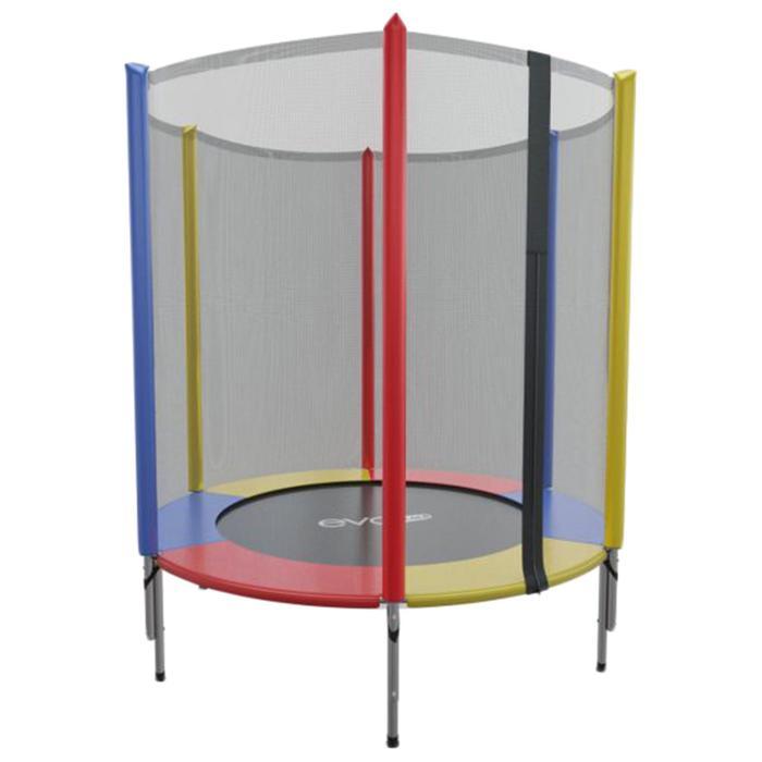 Батут EVO JUMP Mini 4,5ft, d=140 см, с внутренней сеткой