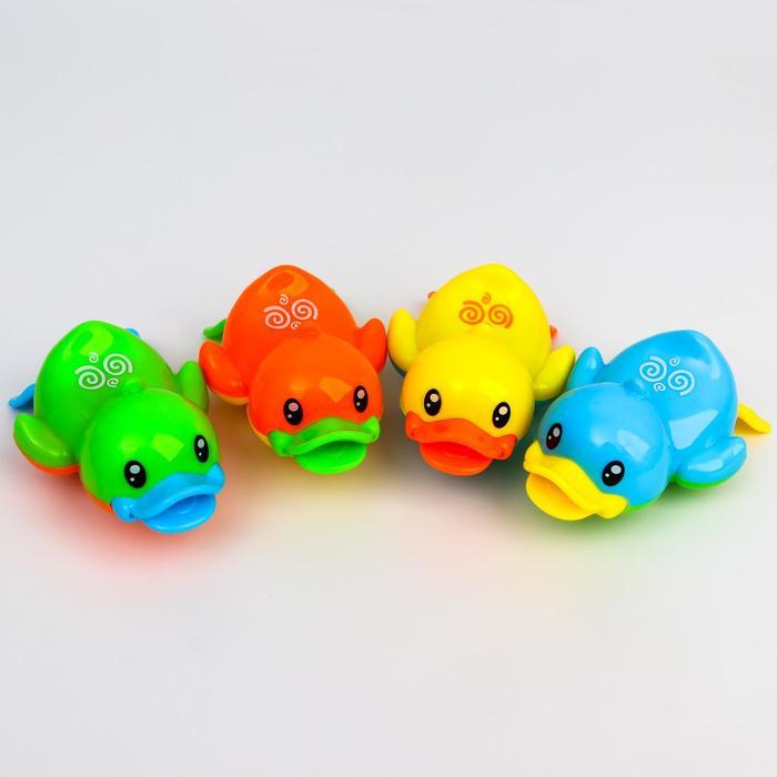 Заводная игрушка «Утёнок», цвет в ассортименте