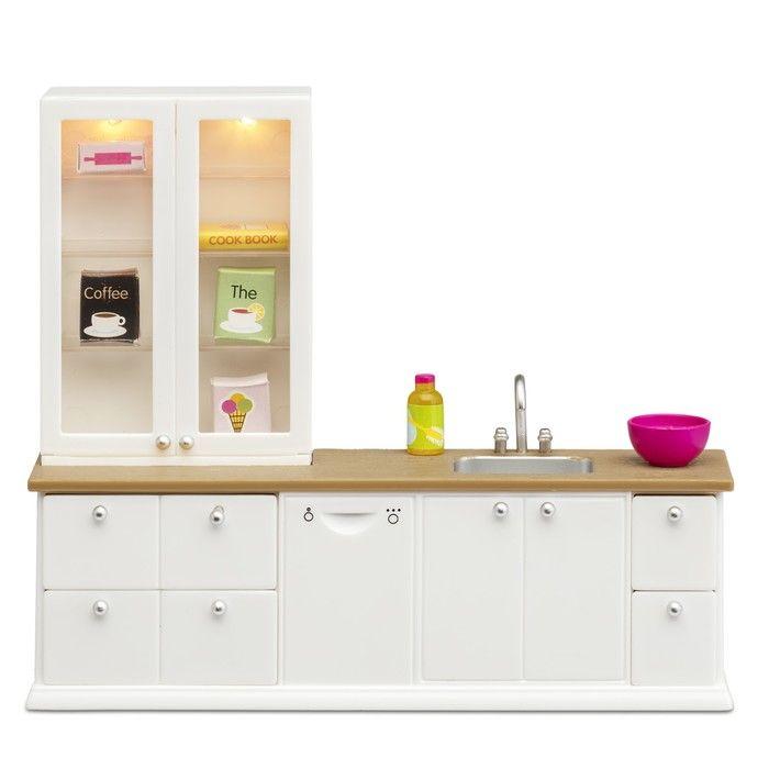 Игровой набор для кукольного домика Смоланд «Кухонный набор с буфетом»