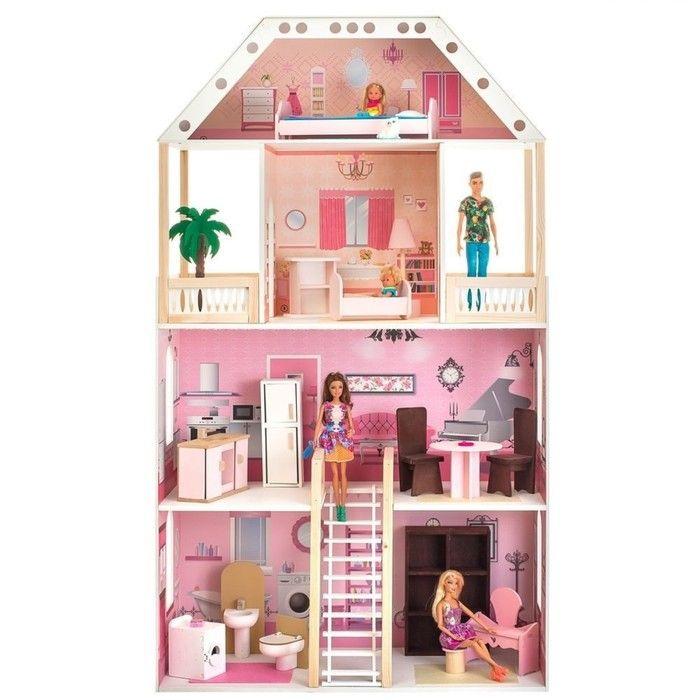 Кукольный домик «Поместье Монтевиль», с мебелью