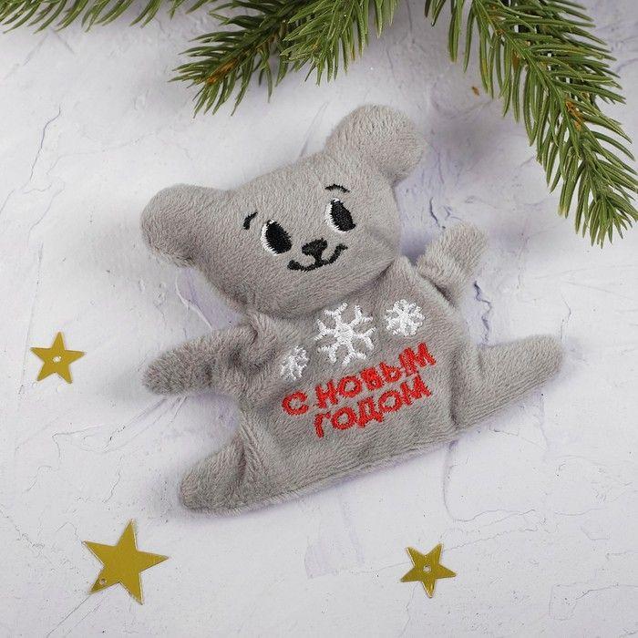 Мягкая игрушка-магнит «Снежинка»