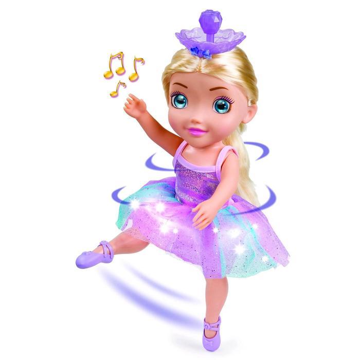 Кукла «Танцующая Балерина», светлые волосы, свет/звук, 45см
