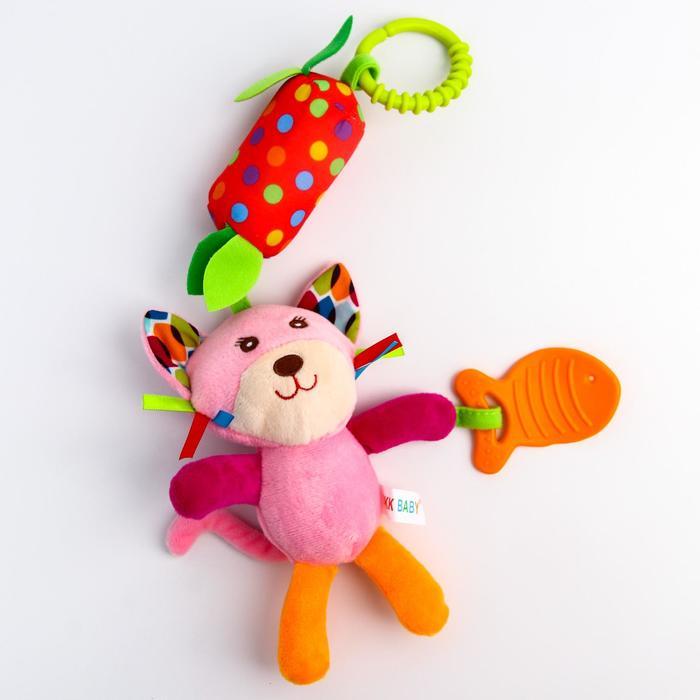Игрушка со звоночком Uviton «Котик»