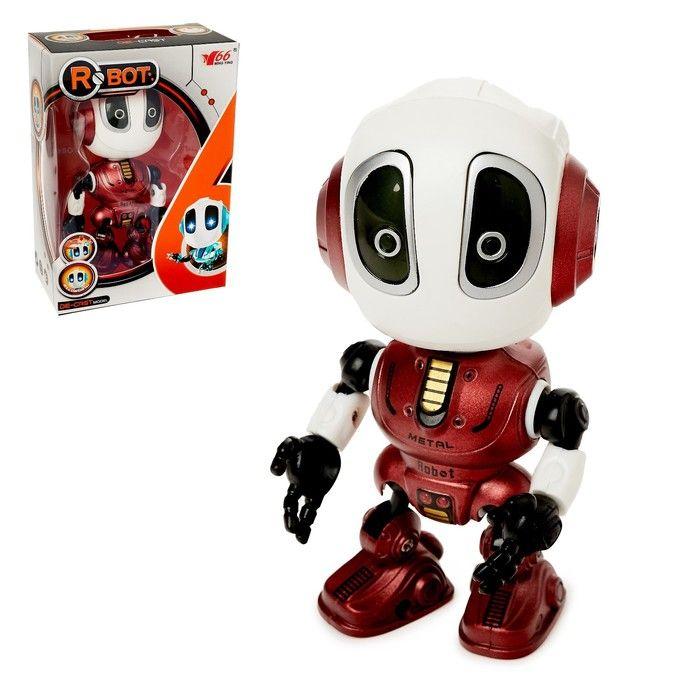 Робот «Повторюшка», реагирует на прикосновение, световые и звуковые эффекты, цвета в ассортименте