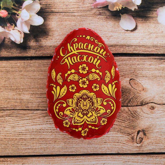 Пасхальный сувенир на магните «С Красной Пасхой. Орнамент»