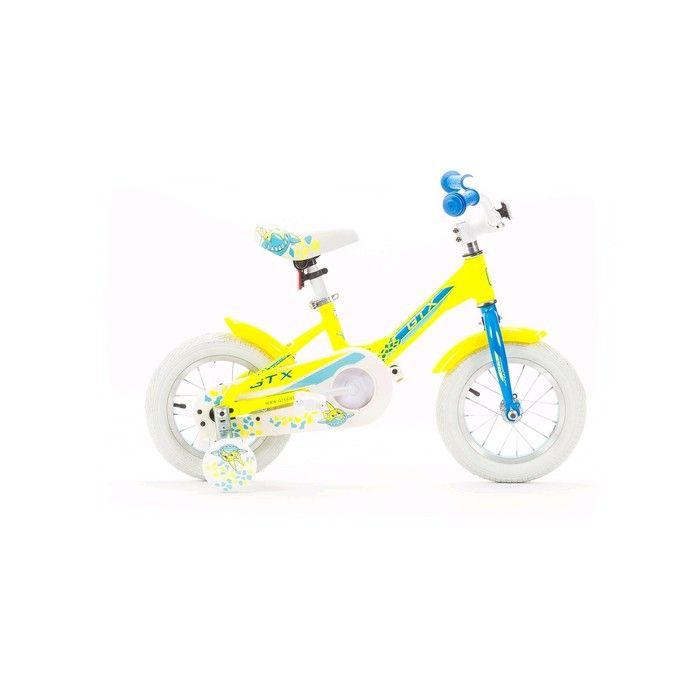 """Велосипед 12"""" GTX PONY, цвет жёлтый, размер 7.5"""""""