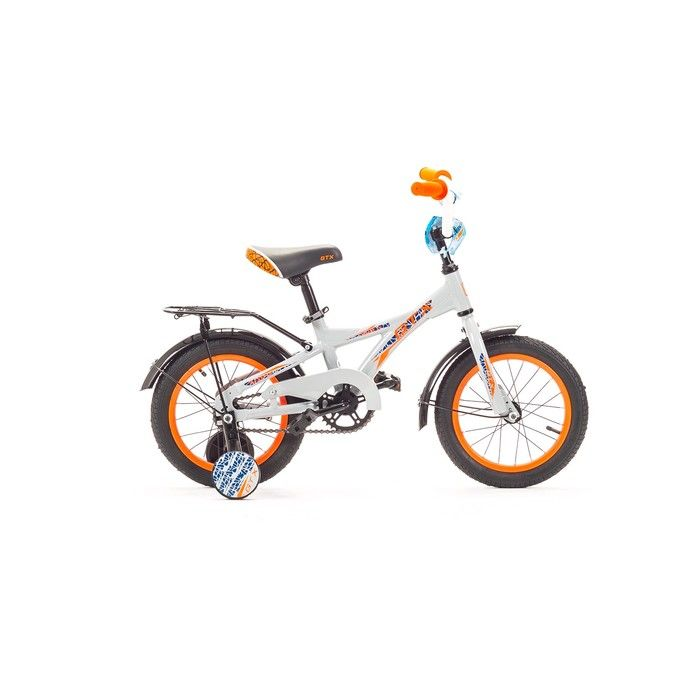 """Велосипед 14"""" GTX BALU, цвет белый, размер 7.8"""""""