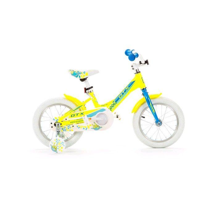 """Велосипед 14"""" GTX PONY, цвет салатовый, размер 7.8"""""""