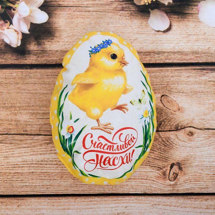 Пасхальный сувенир на магните «Цыплёнок»