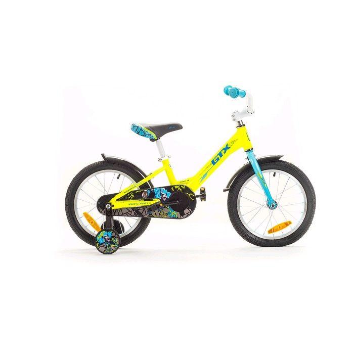 """Велосипед 16"""" GTX PONY, цвет жёлтый, размер 8.3"""""""