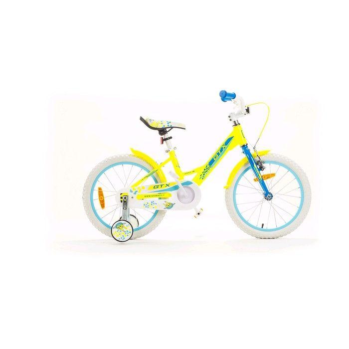 """Велосипед 18"""" GTX PONY, цвет жёлтый, размер 8.3"""""""