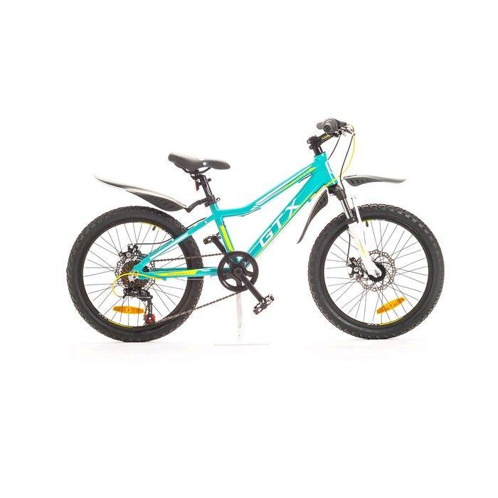 """Велосипед 20"""" GTX RAID, цвет бирюзовый, размер 12"""""""