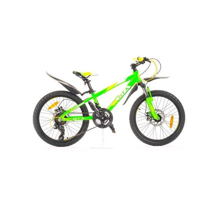 """Велосипед 20"""" GTX TROPHY, цвет салатовый, размер 12"""""""