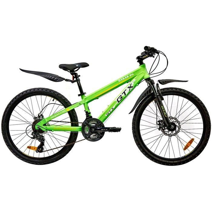 "Велосипед 24"" GTX DAKAR, цвет зеленый, рама 11.5"""