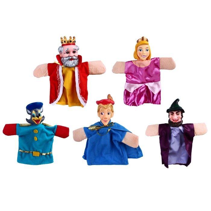 Кукольный театр «Кот в сапогах», 5 кукол