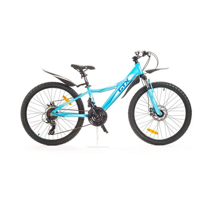 """Велосипед 24"""" GTX MALIBU, цвет голубой, размер 12"""""""