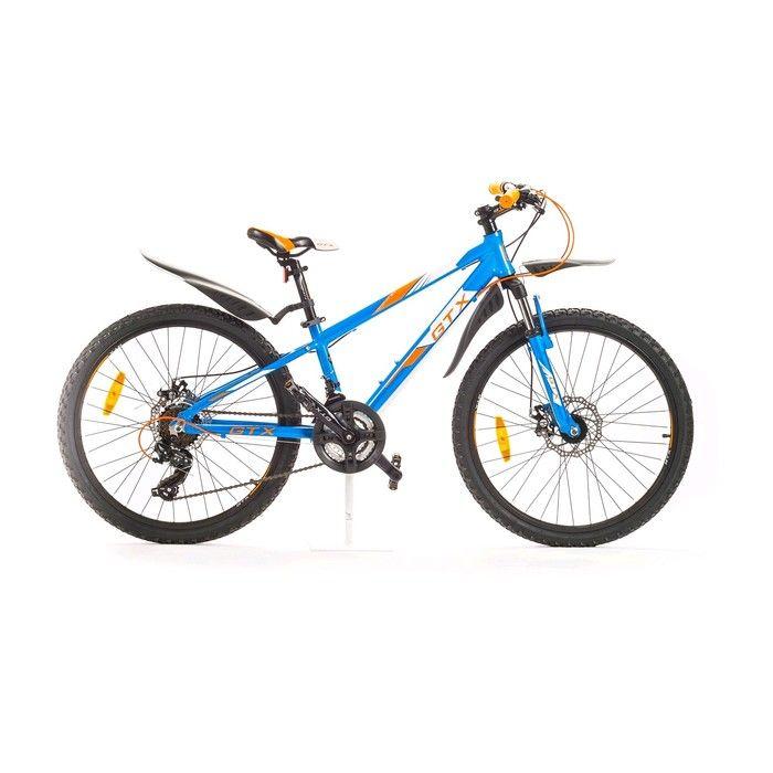 """Велосипед 24"""" GTX TROPHY, цвет голубой, размер 12"""""""