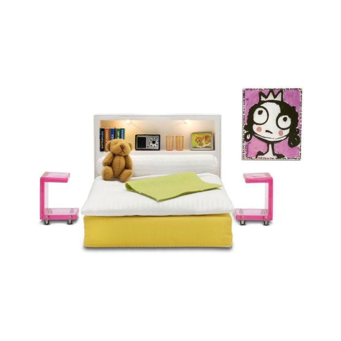 Мебель для кукольного домика Стокгольм «Спальня»