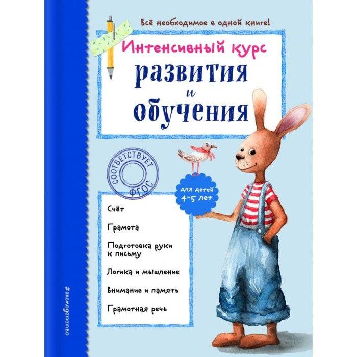 ИнтКурсМал. Интенсивный курс развития и обучения: для детей 4-5 лет. Волох А.В.