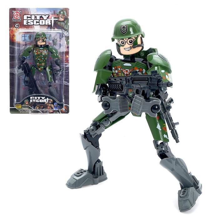 Робот конструктор «Военный», в ассортименте