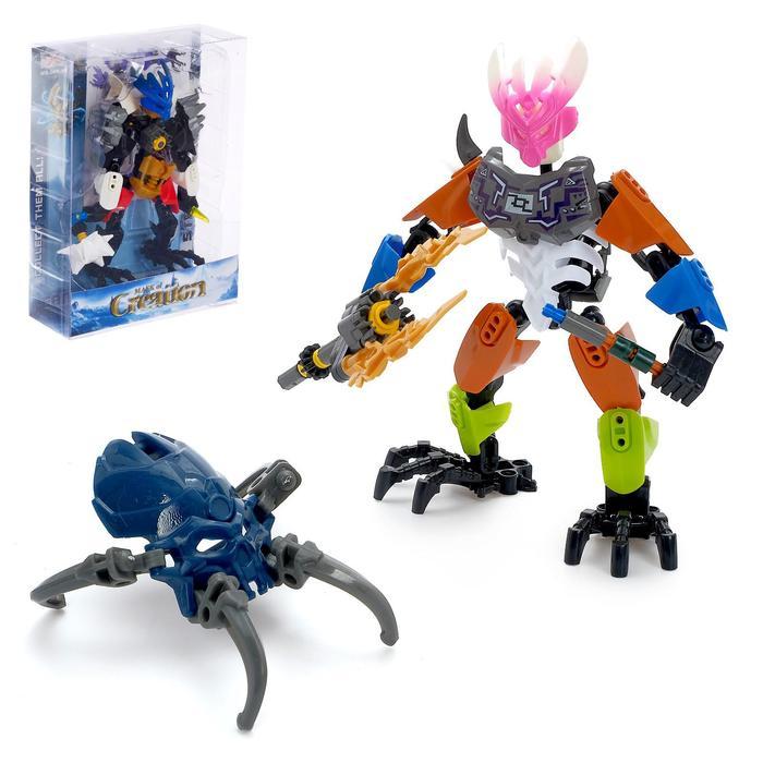Робот конструктор «Защитник», в ассортименте