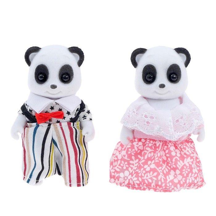 Питомцы «Крошики. Счастливая семья», панды, в пакете