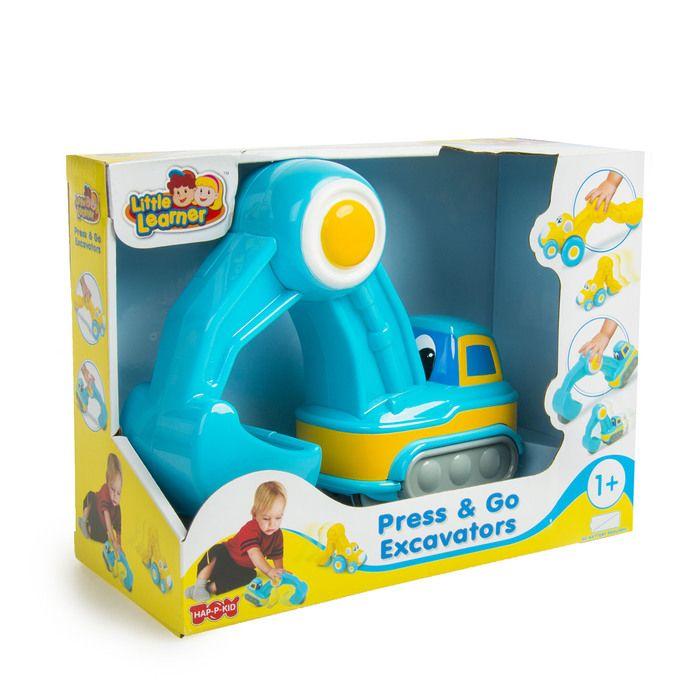 Инерционная игрушка «Экскаватор» синий