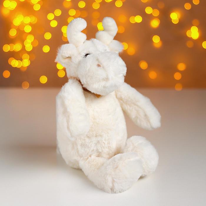 Мягкая игрушка «Белый лосик», Мягкая игрушка. Новый год