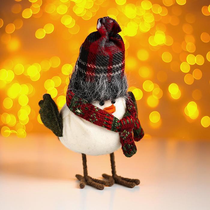 Игрушка «Птичка», Мягкая игрушка. Новый год