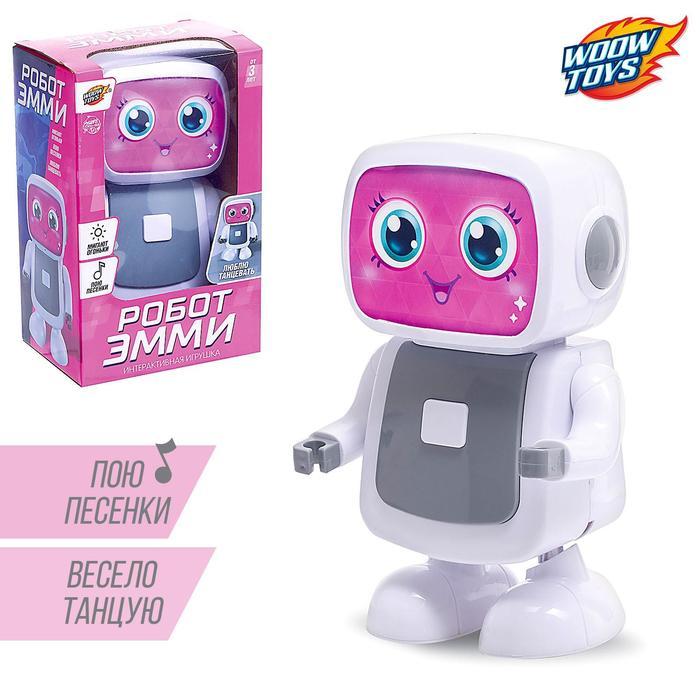 Робот «Эмми», музыкальный, танцует, русский звуковой чип