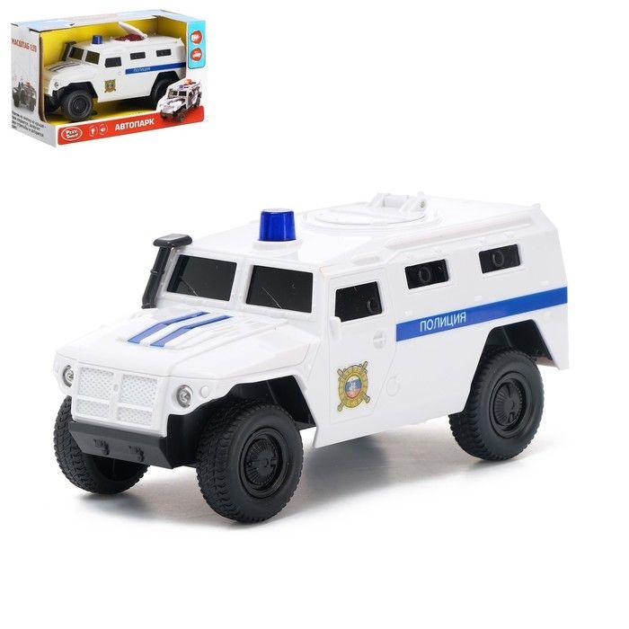 Машина «Тигр Полиция», масштаб 1:29, свет и звук, инерция