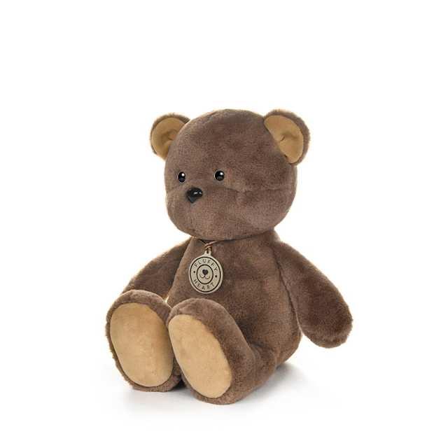 """Мягкая игрушка """"Медвежонок"""" Fluffy Heart, цвет коричневый, 25 см"""