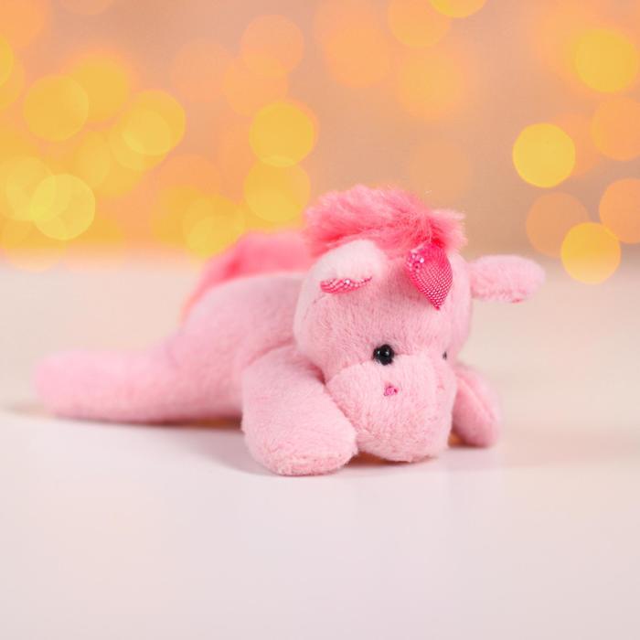 Мягкая игрушка «Единорог», с магнитом, цвета в ассортименте