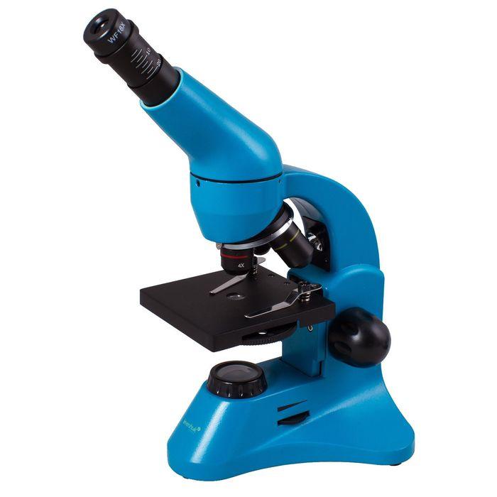 Микроскоп Levenhuk Rainbow 50L PLUS Azure/Лазурь
