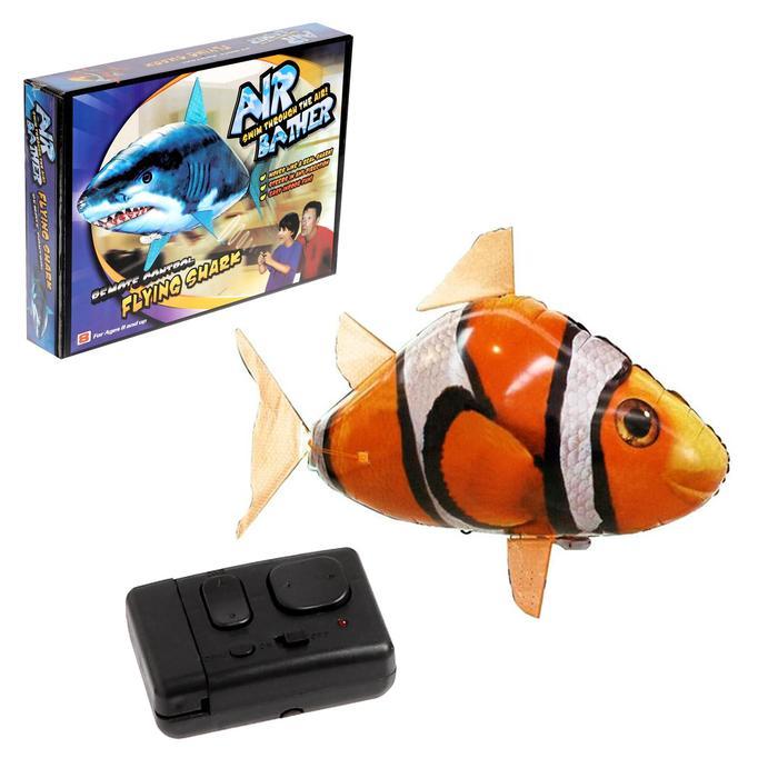 Летающая рыба «Клоун» на радиоуправлении (гелий не входит в комплект)