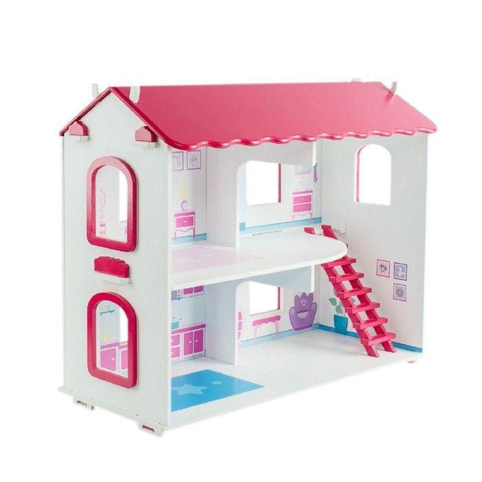 Кукольный дом «Виктория», с интерьером