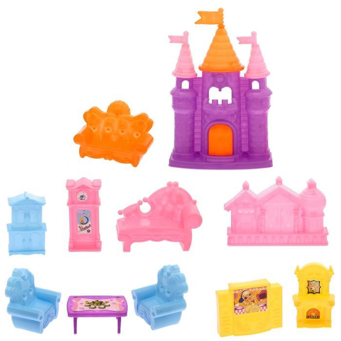Замок для куклы «Блеск» с аксессуарами, в пакете