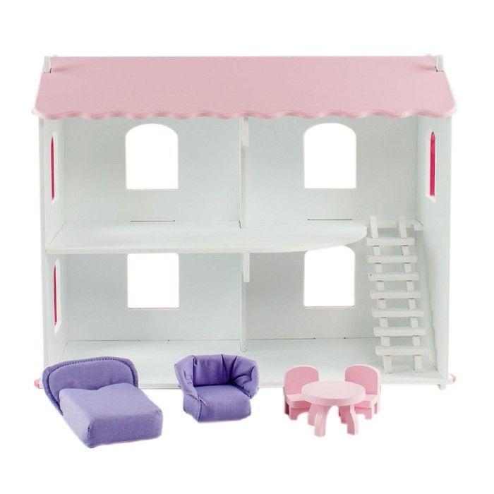 Кукольный дом «Даниэла», с мебелью, 6 предметов