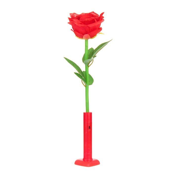Палочка световая «Роза», цвет красный